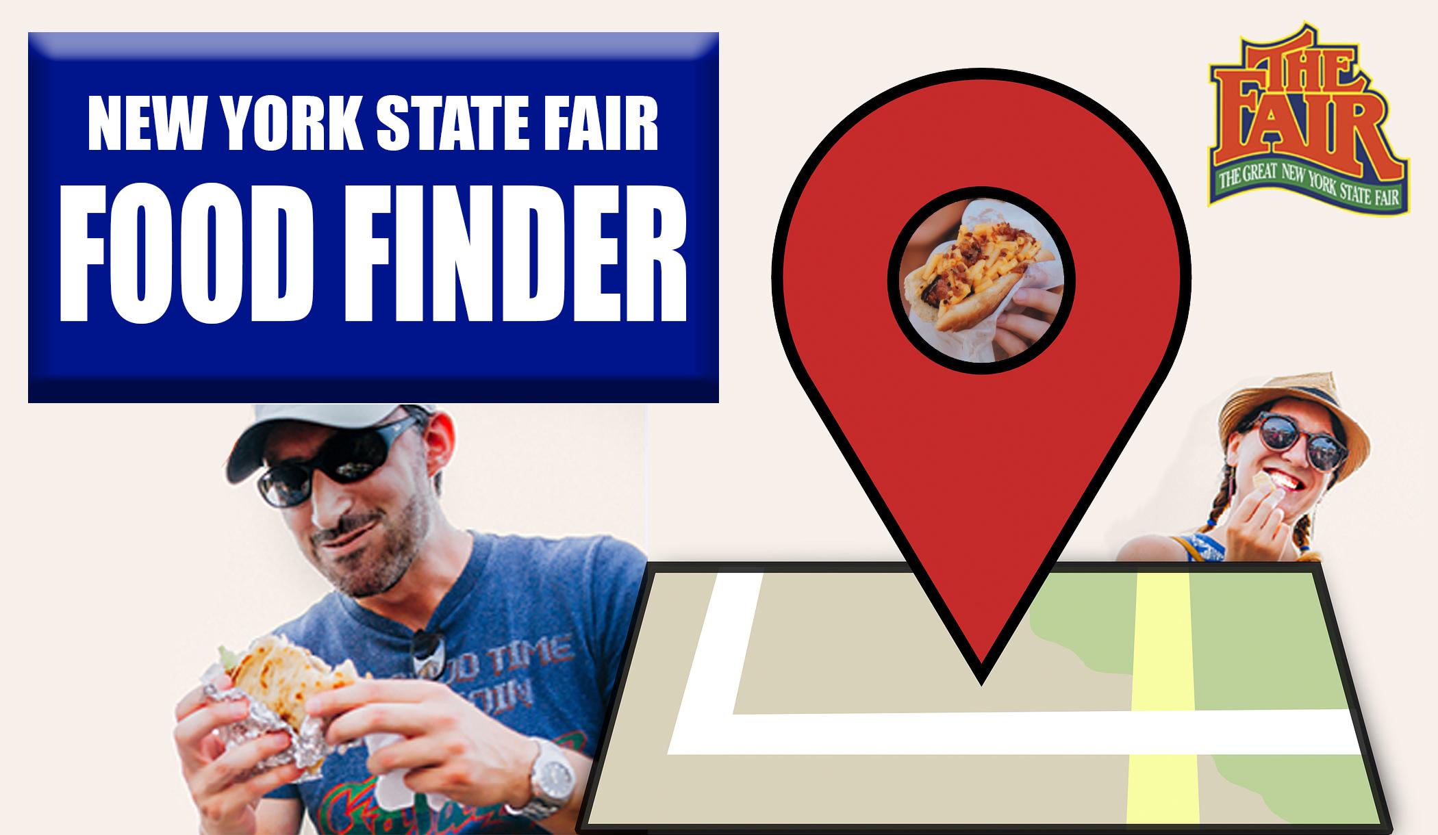Food Finder Map