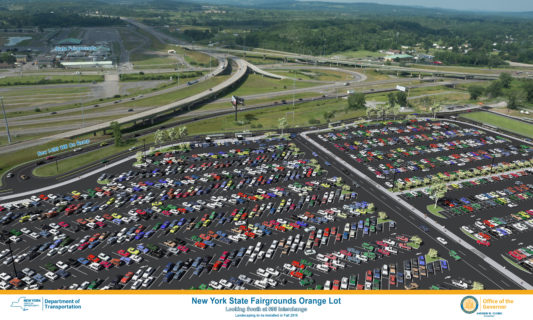 Governor Cuomo Announces Phase I Construction of the Fair's Orange Lot Begins This Fall 1
