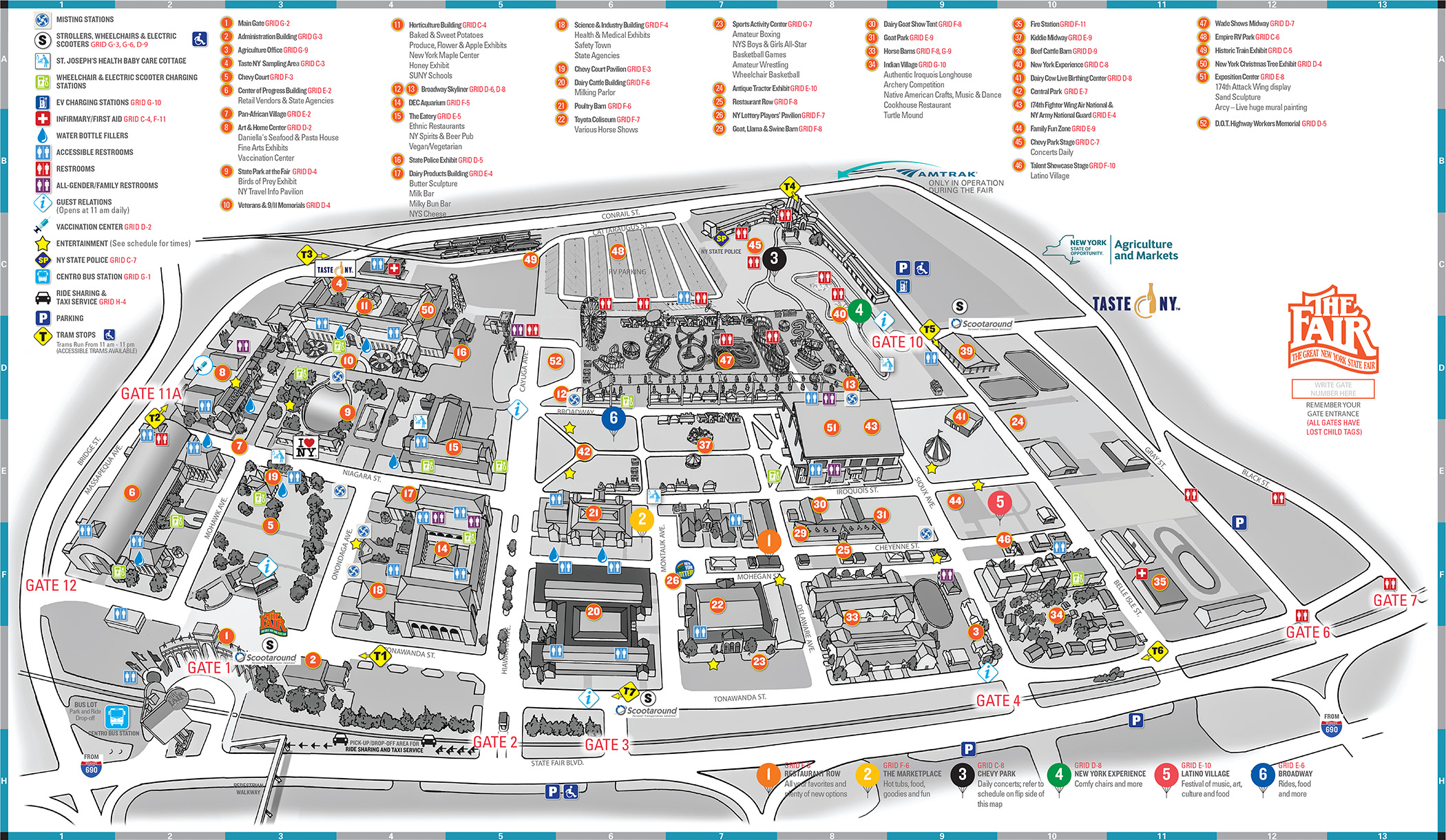 State Fair Grounds Map
